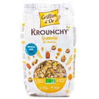 Grillon d'Or - Céréales Déjeuner Krounchy Granola 500g - Bio
