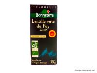 BONNETERRE Lentilles vertes du Puy A.O.P. 500g
