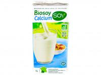 SOY Boisson de soja au calcium Biosoy 1L