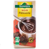BONNETERRE Chocolat noir pâtisserie 200g