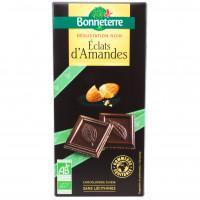 Chocolat Noir Eclats d'Amandes Bio 90g