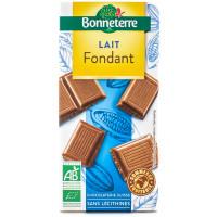 BONNETERRE Chocolat au lait fondant 100g