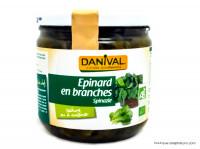 DANIVAL Epinard en branches 340g