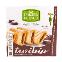 Biscuits Twibio Fourrés au chocolat 150g