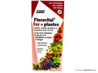 SALUS Floravital fer + plantes 250ml