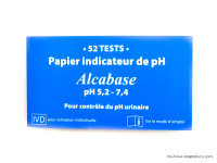IDV Alcabase papier indicateur de pH 5,2 à 7,4