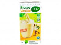 SOY Boisson de soja arôme vanille Biosoy 1L