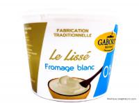 GABORIT Le Lissé fromage blanc 0% 500g