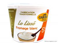 GABORIT Le Lissé fromage blanc 5% 500g