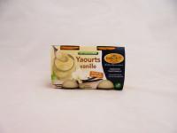 GABORIT Yaourts 1/2 écrémés à la vanille 2x125g