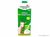 ANDECHSER Lait de chèvre stérilisé U.H.T. 3%mg 1L