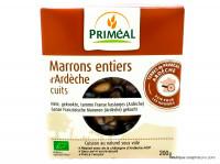 PRIMEAL Marrons entiers d'Ardèche cuits sous vide 200g