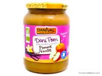 DANIVAL Dani'Pom Compote pomme vanille 700g