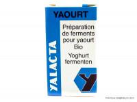 YALACTA Ferments pour yaourts 4g