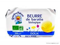 GRANDEUR NATURE Beurre de baratte doux 250g