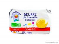 GRANDEUR NATURE Beurre de baratte 1/2 sel 250g