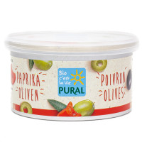 Pâté Végétal au Poivron et aux Olives Bio 125g