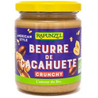 Beurre de Cacahuète Crunchy Bio 250g