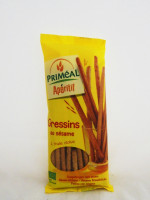 PRIMÉAL Gressins au sésame à l'huile d'olive 120g
