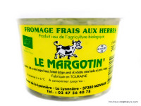 Le Margotin Fromage Frais aux Herbes Bio 300g