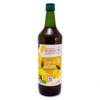 Sirop de Citron au Sucre de Canne Bio 1L