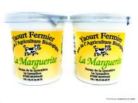 LA MARGUERITE Yaourts au lait entier 4x12,5cl