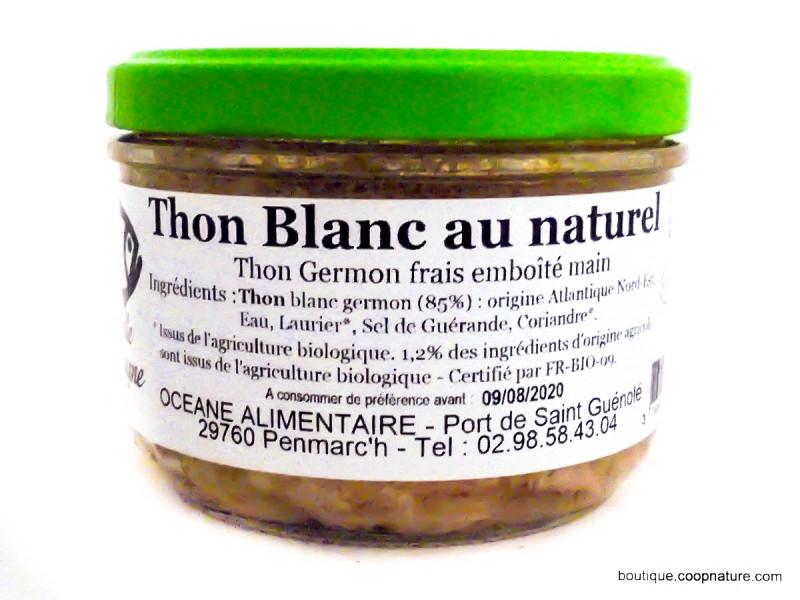 OCEANE ALIMENTAIRE Thon blanc germon au naturel 200g