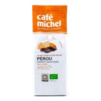 Café Michel - Café Arabica du Pérou doux et fruité, moulu 250g - Bio
