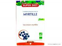 SUPERDIET Myrtille 20 ampoules