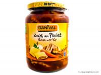 DANIVAL Raviolis au poulet 670g