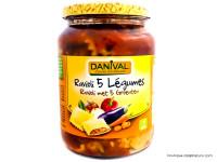 DANIVAL Raviolis aux 5 légumes 670g