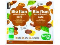 NAT-ALI Bio-flan au café sans sucre ajoutés 2x5g