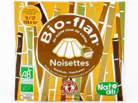 NAT-ALI Bio-flan Noisettes sans sucres ajoutés 40g
