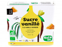 NAT-ALI Sucre vanillé 8x8g