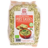 Flocons de Pois Cassés Bio 350g