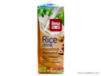 LIMA Boisson de riz, noisette, amande 1L