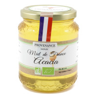 PROVENANCE NATURE Miel d'acacia 500g
