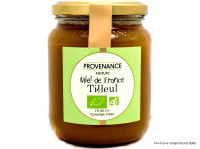 PROVENANCE NATURE Miel de tilleul origine France 500g