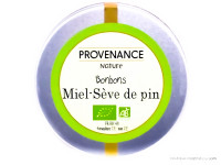 PROVENANCE NATURE Bonbons miel & sève de pin 150g