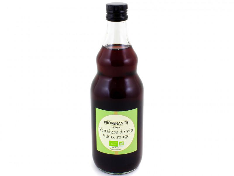 PROVENANCE NATURE Vinaigre de vin vieux rouge 75cl