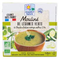 GRENDEUR NATURE Mouliné de légumes verts 2x250ml