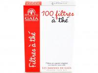 LES JARDINS DE GAÏA Filtres à thé boite de 100