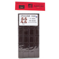 AGNES BIO Chocolat noir +/- 90% tablette de 100g