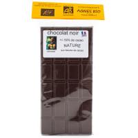 AGNES BIO Chocolat noir +/-59% tablette de 100g