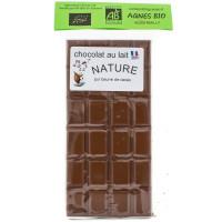 AGNES BIO Chocolat au lait 100g