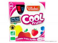 VITABIO Cool fruits pomme fraise myrtille + acerola 4x90g