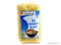 MARKAL Riz basmati blanc 1kg