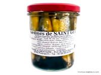 OCEANE ALIMENTAIRE Sardines de saint Gué huile d'olive 280g