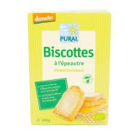 Pural - Biscottes à l'épeautre 200g - Bio Demeter