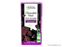 SAVEURS ATTITUDES Chocolat noir du Pérou 85% 80g